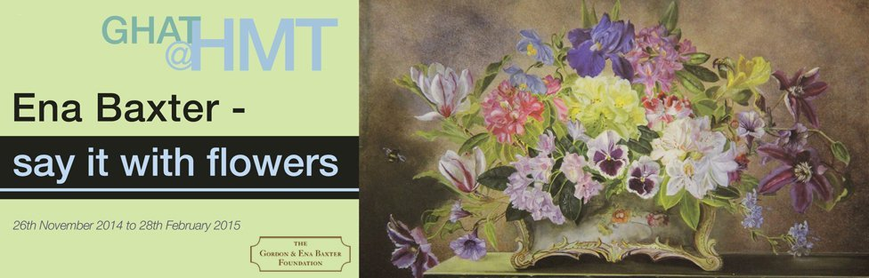 Ena Baxter: Say it with Flowers