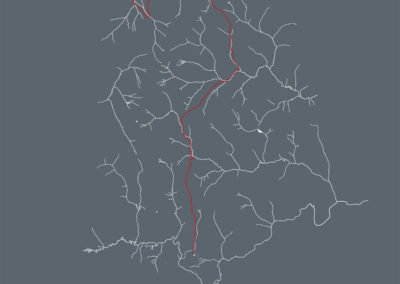 route of springs water