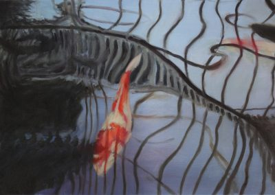 Reflections on Koi Pond