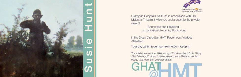 Concealed and Revealed an exhibition of work by Susie Hunt