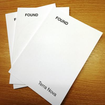 found: exhibition book