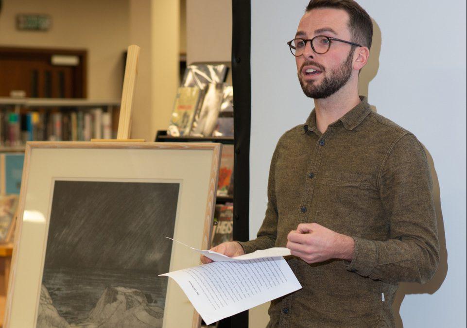 Writing Art; an evening of creative writing with writer Shane Strachan