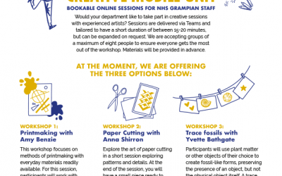 Bookable online sessions for NHS Grampian staff
